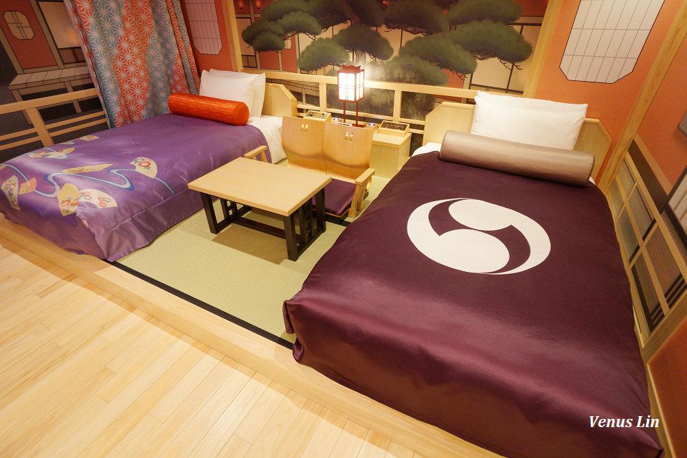 京都飯店推薦,京都河原町飯店,京都三条飯店,歌舞伎概念客房,格拉斯麗京都三条酒店,京都地點好的飯店