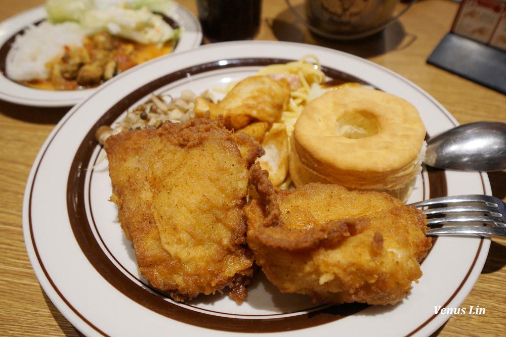 大阪EXPOCITY美食,肯德基吃到飽餐廳,日本肯德基吃到飽