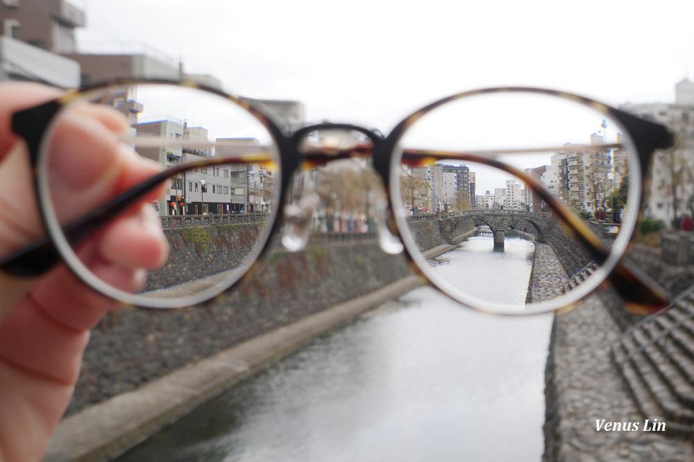長崎,長崎眼鏡橋,長崎眼鏡橋美食,眼鏡橋愛心石