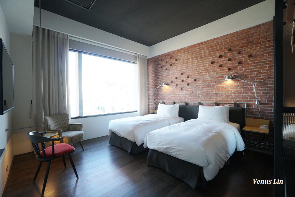 台南飯店|友愛街旅館 U.I.J Hotel&Hostel,超美文青x工業風設計旅館