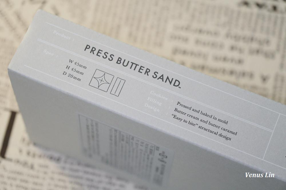 東京車站必買,東京最新伴手禮,Press Butter Sand 焦糖奶油夾心餅