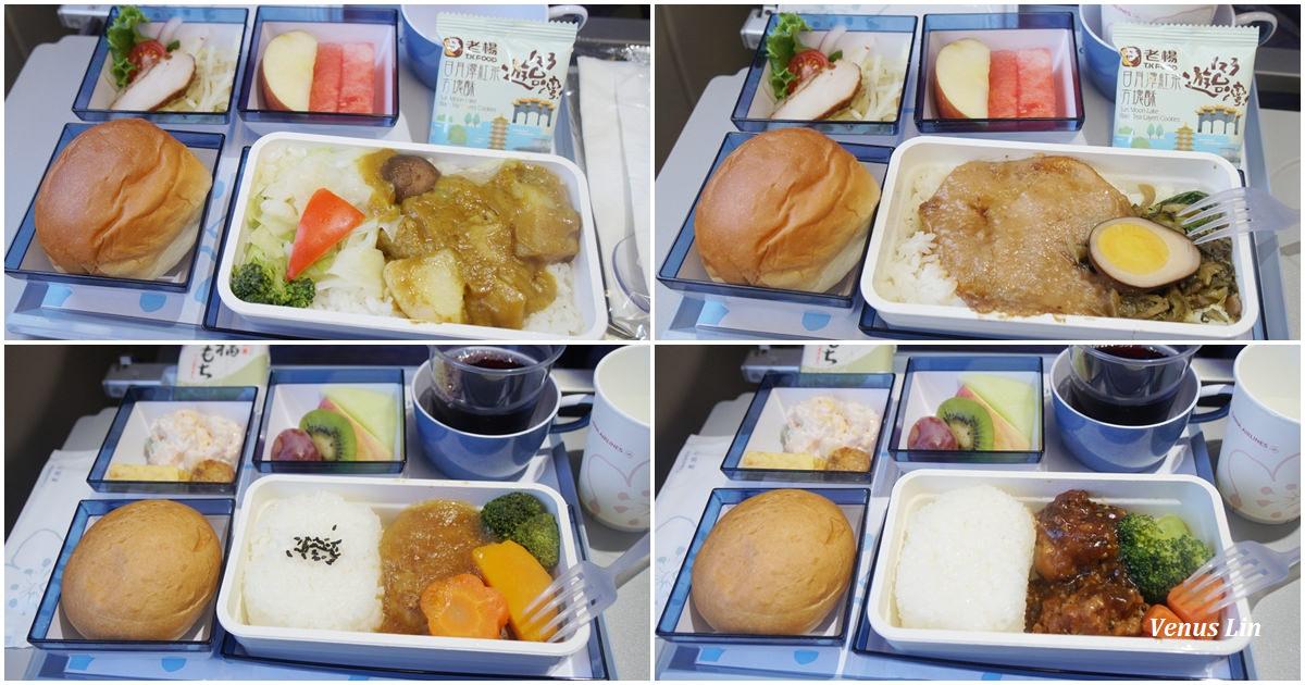 中華航空A330台北松山飛東京羽田來回經濟艙飛機餐 2018.6.7~6.13
