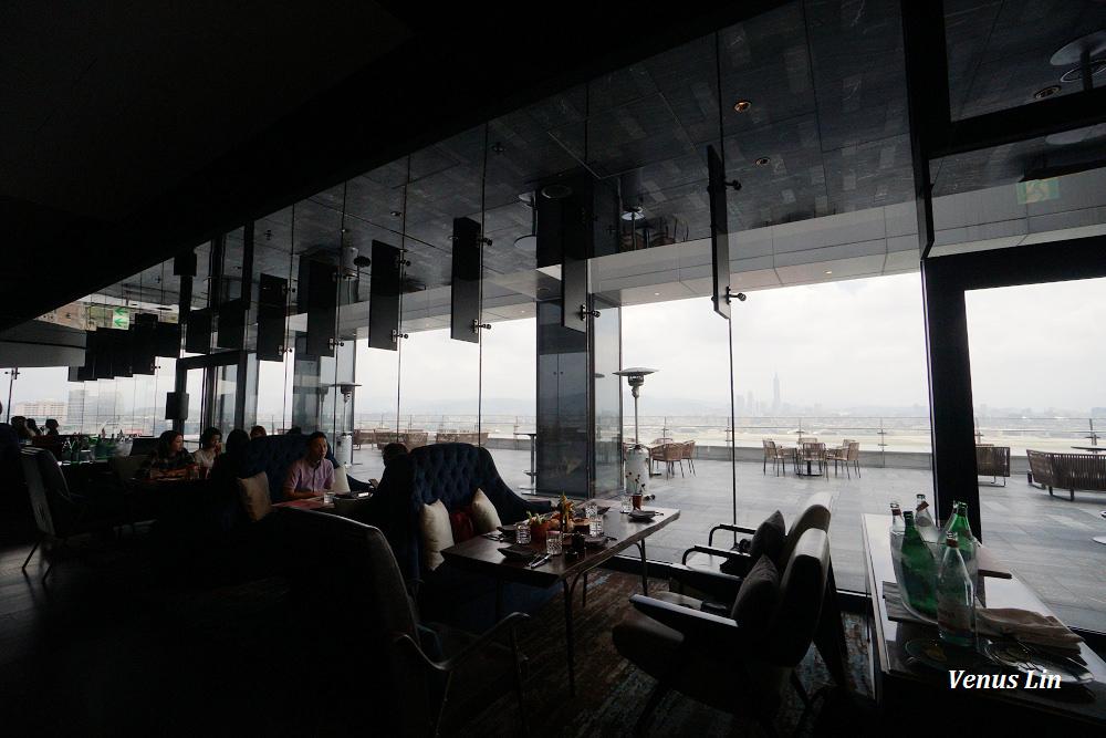 大直早午餐,大直高空酒吧,台北高空酒吧,台北萬豪酒店,INGE'S Bar & Grill,公主風週末早午餐