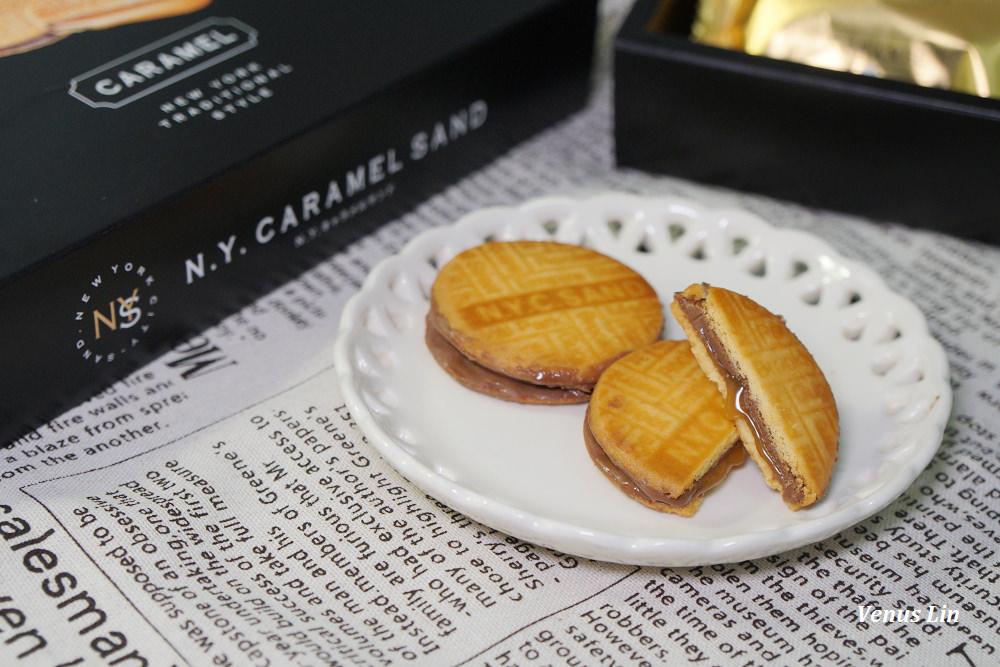 東京排隊伴手禮|N.Y. CARAMEL SAND焦糖巧克力餅乾,爆漿的焦糖內餡太邪惡