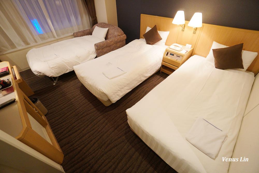 札幌飯店|全日空皇冠假日酒店 ANA Crowne Plaza Sapporo三人房