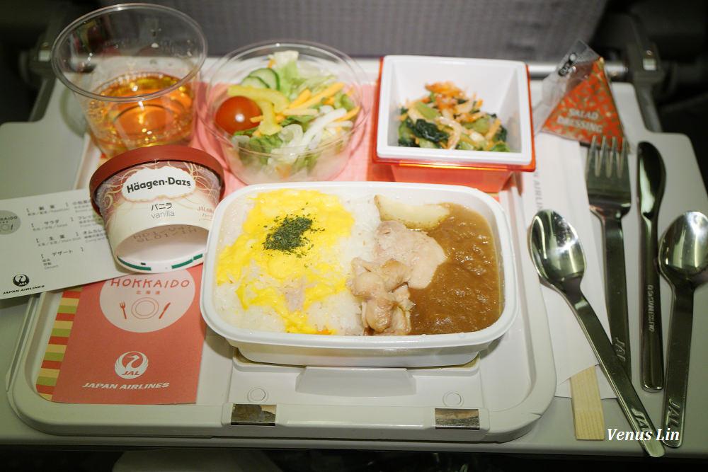 日本航空767-300桃園飛東京成田來回經濟艙飛機餐 2018.2.25~2.28
