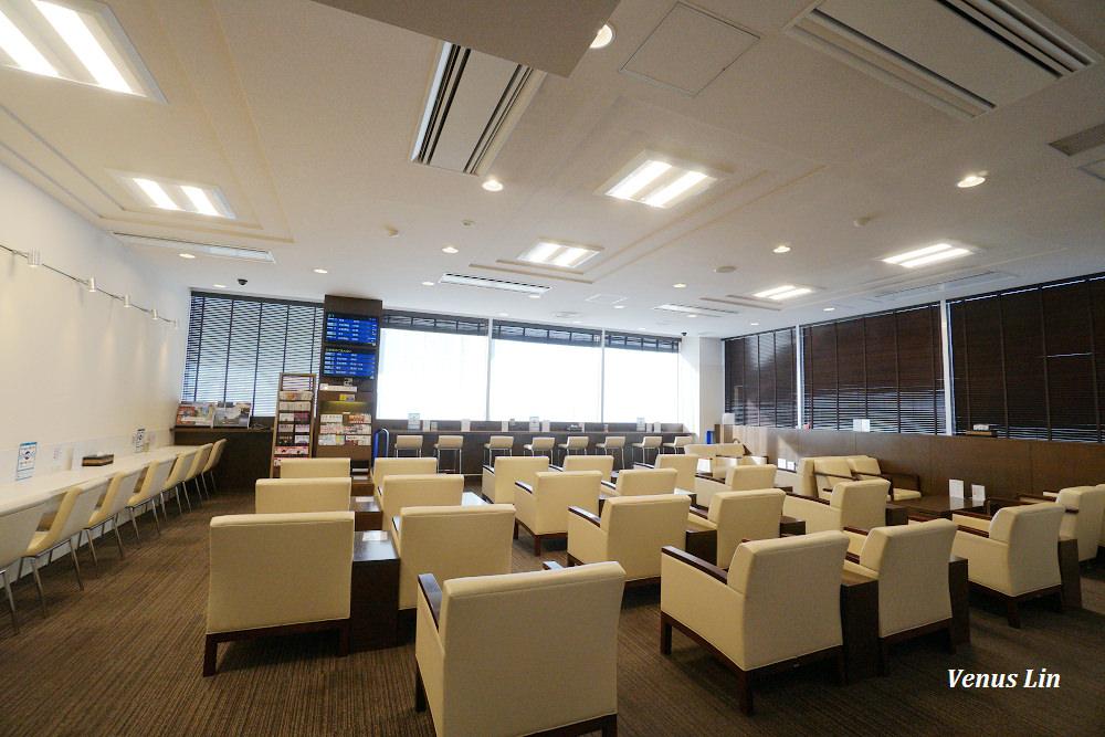 日本高松機場JCB卡免費貴賓室:Lounge讃岐