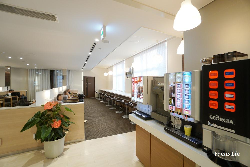 日本小松機場JCB卡免費貴賓室:藍天休息室白山
