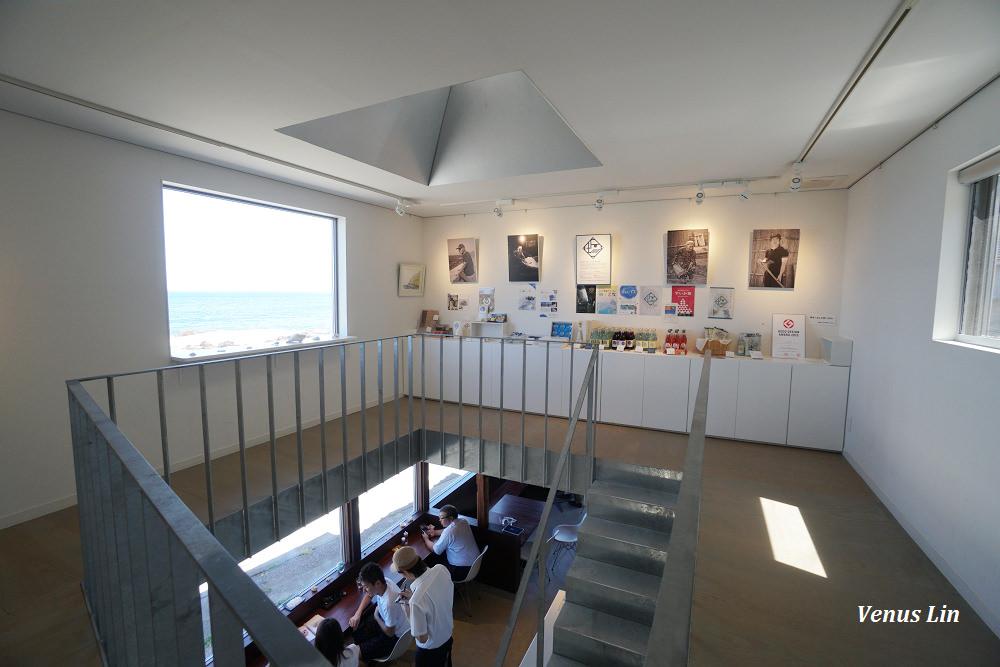石川珠洲,しおカフェ,Sio Cafe,能登半島,能登海景咖啡館,白米千枚田,小松機場租車