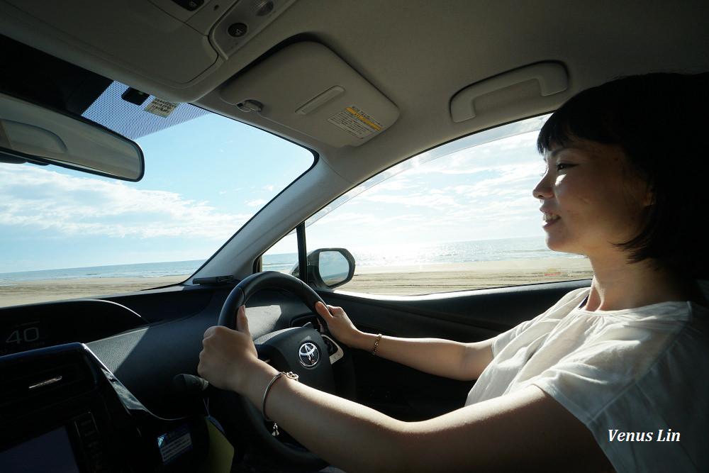 千里濱沙灘公路,能登半島必玩,石川自駕,小松機場租車
