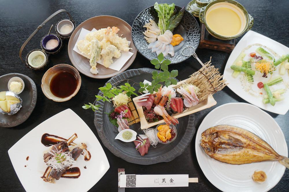 旭川車站美食|天金本店,奢侈大口吃海膽涮涮鍋、海膽雜炊