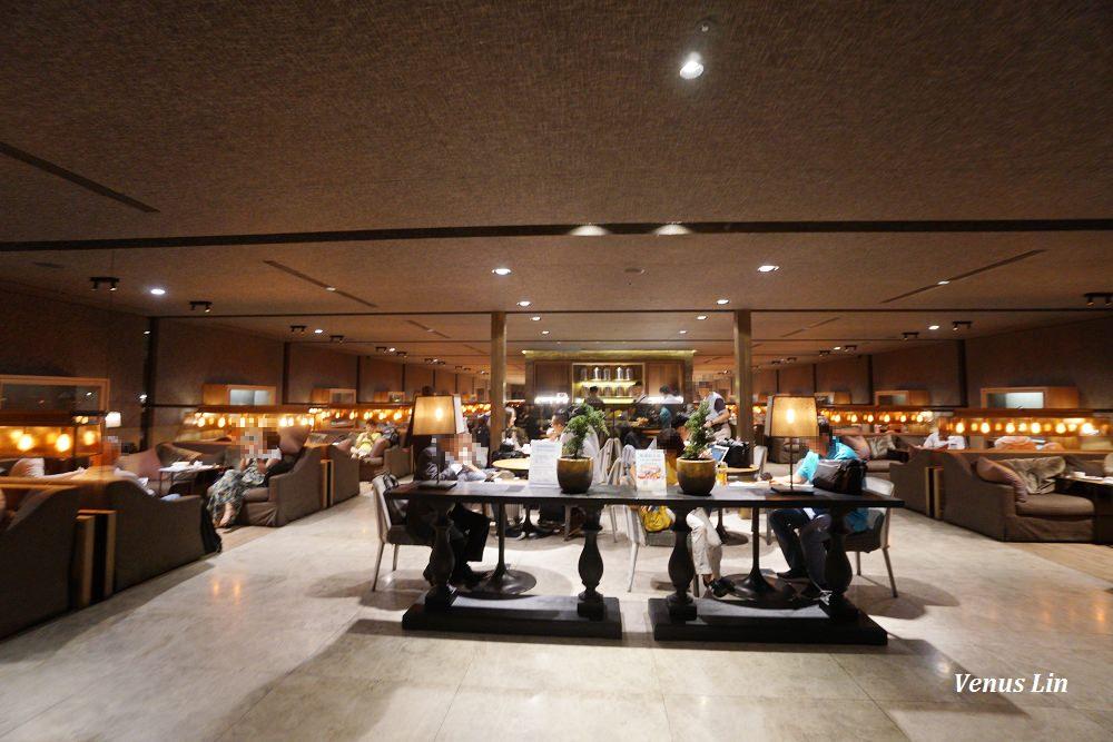 中華航空桃園機場第一航廈貴賓室,有現煮牛肉麵等麵食