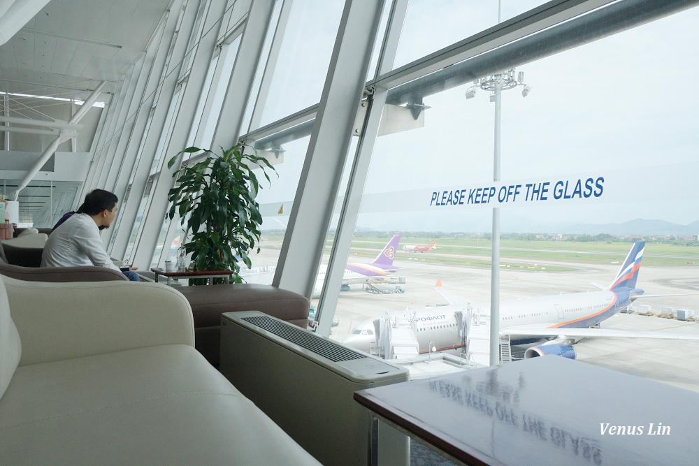 航飛河內,河內機場華航貴賓室,河內自助,越南懶人包