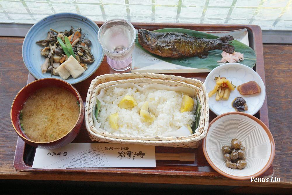 長野小布施|竹風堂小布施本店,午餐就吃栗子飯吧!