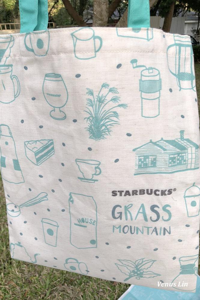 草山星巴克,免費野餐墊,草山星巴克必買,草山星巴克馬克杯,草山星巴克隨行卡.草山星巴克限定提袋