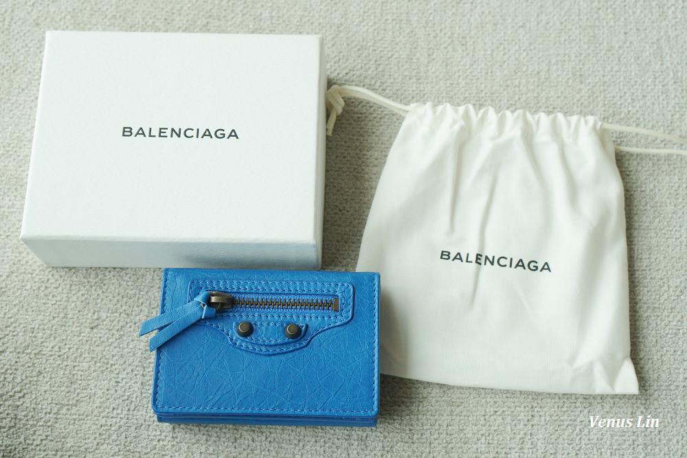 Balenciaga,巴黎世家迷你三折短夾,巴黎世家皮夾