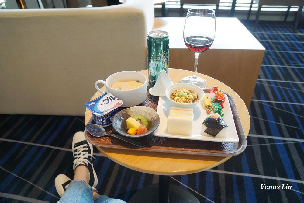 大阪關西機場華航貴賓室KIX AIR SIDE LOUNGE,迷你飯糰好吃
