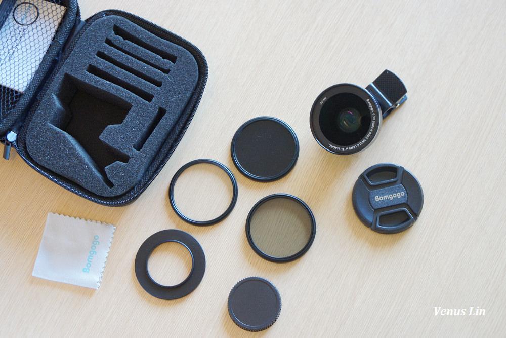 Bomgogo,手機用廣角鏡頭.手機用微距鏡頭,Bomgogo L5
