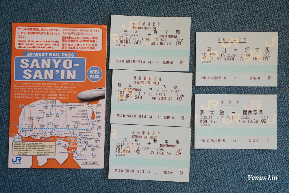 Hello Kitty新幹線,山陽&山陰地區鐵路周遊券,山陽山陰JR PASS,福岡博多車站兌換JR PASS