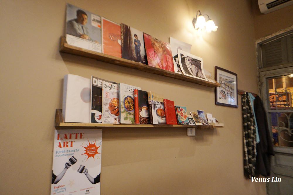 河內書店咖啡館,36古街咖啡館,Tranquil Books & Coffee,河內咖啡館推薦,河內自助,河內飯店推薦