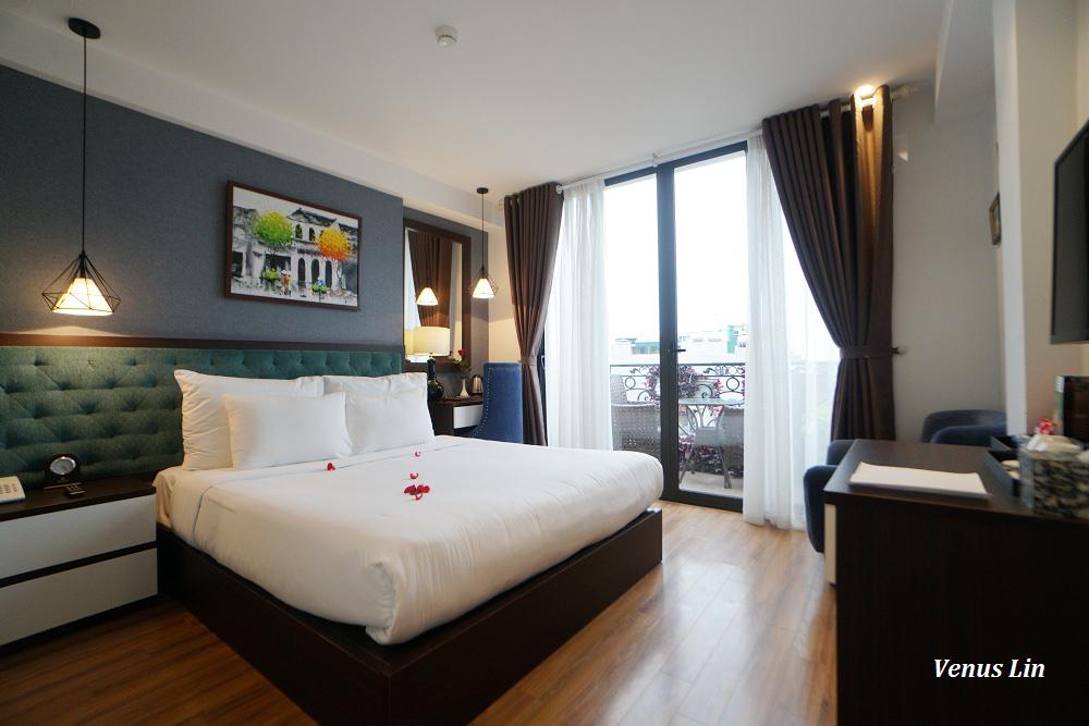 河內飯店|Hanoi Babylon Garden Hotel & Spa,36古街超好位置.3分鐘步行到還劍湖