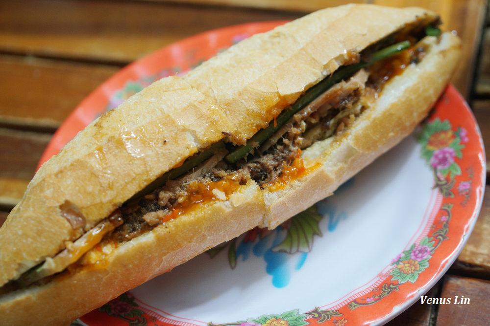 會安美食|Madam Khanh The Banh Mi Queen,重口味版的越式法國麵包