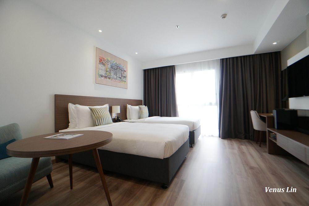 胡志明市飯店|西貢馨樂庭飯店,好新!平價又有附廚房,住到賺到,第三郡超好地點