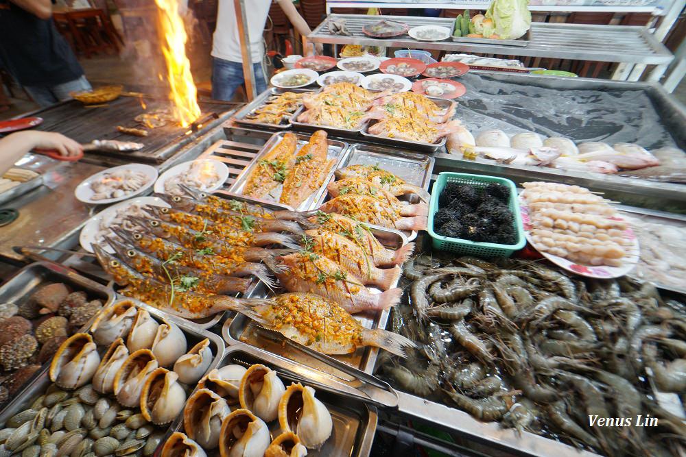 越南富國島|富國島夜市 Phu Quoc Night Market,海鮮熱炒.伴手禮.便宜珍珠