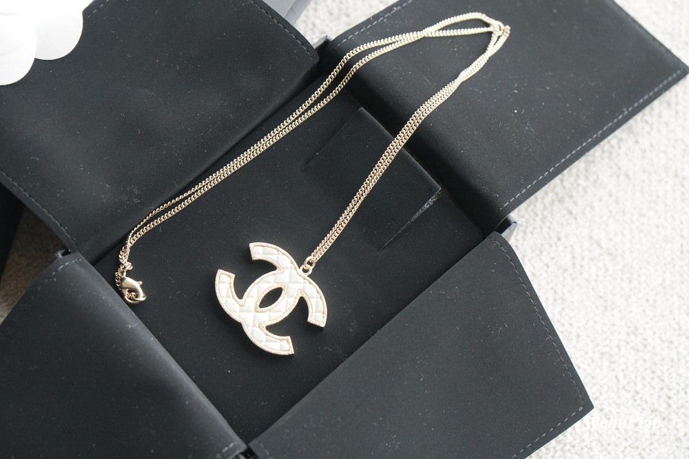 香奈兒項鍊,小香項鍊,精品項鍊,香奈兒經典雙C項鍊,小香菱格紋項鍊
