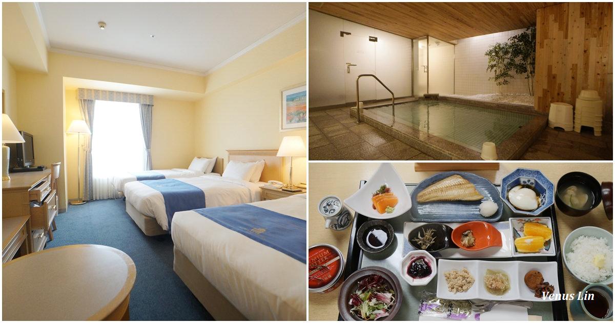 小樽飯店 小樽歐森飯店Authent Hotel Otaru,質感飯店,日式早餐非常好吃