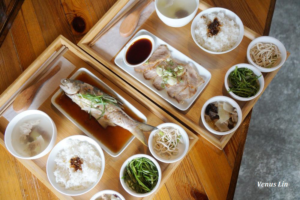 內湖|阿達阿永咖啡廳 R.E.C. CAFE內湖店,中式簡餐真好吃,小菜還可以續一次