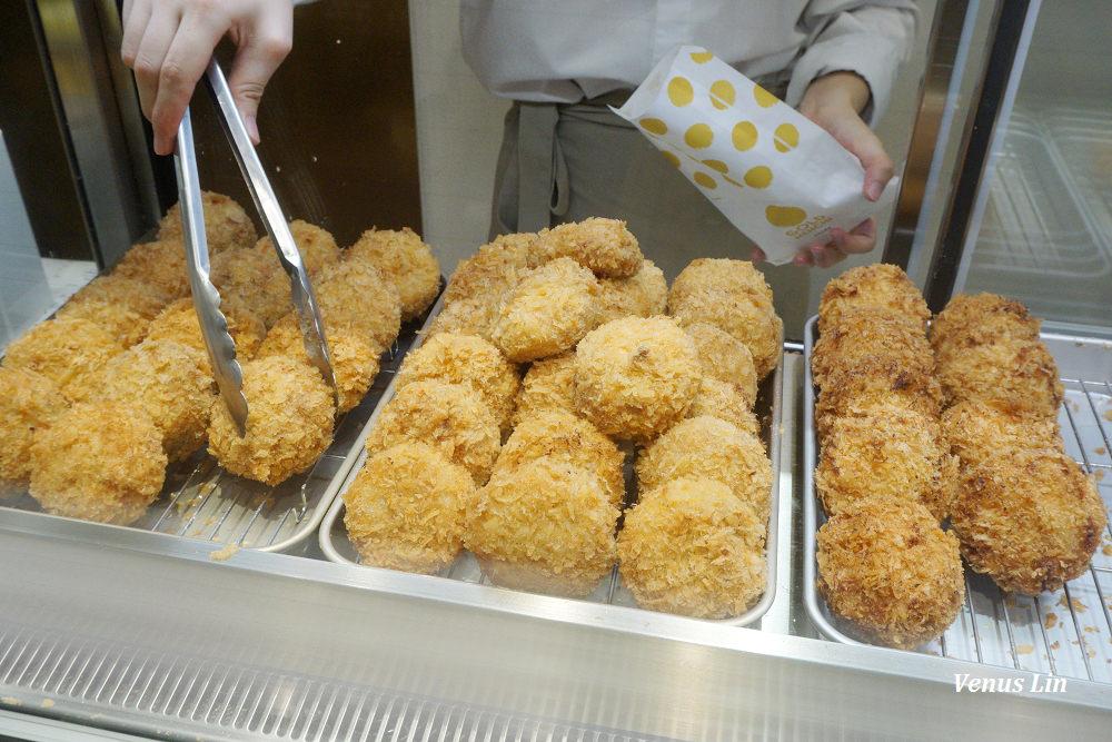 微風南山|金葉名氣餅、1秒回到日本銀座吃高級炸肉餅、新推出炸出肉餅