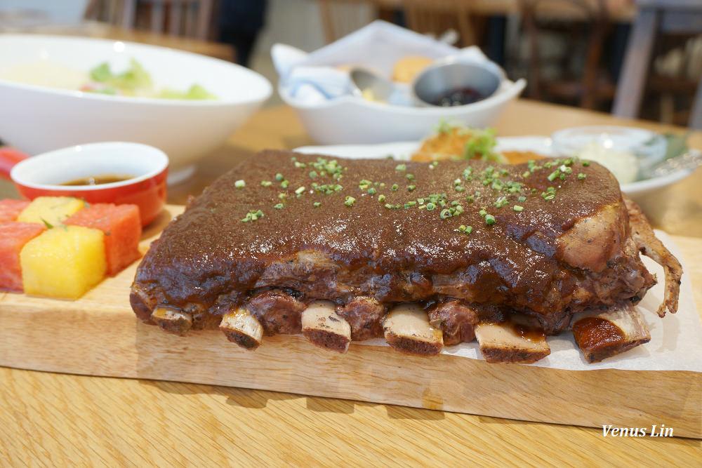 台北中山|Buttermilk摩登美式餐廳,必點阿嬤炸雞.西瓜燒烤醬豬肋排.比司吉.烤甜玉米(初訪、二訪、三訪)