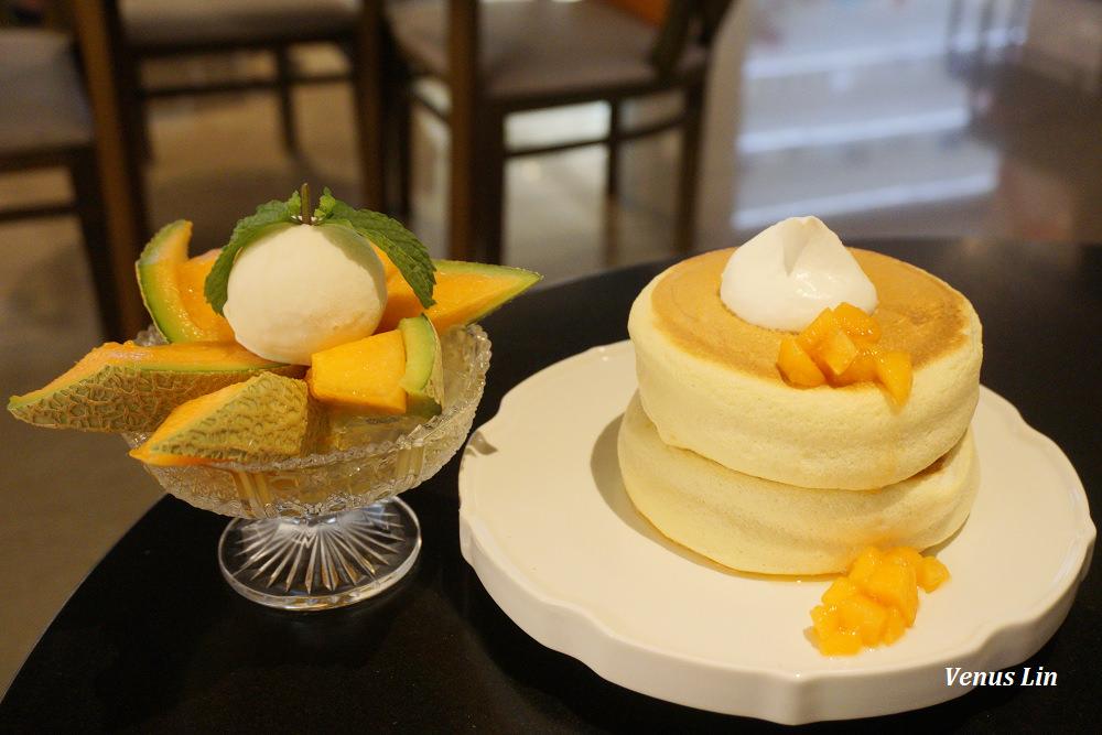 椿Tsubaki Salon,北海道鬆餅名店常駐台北晶華,北海道哈密瓜鬆餅一份750值得點嗎?