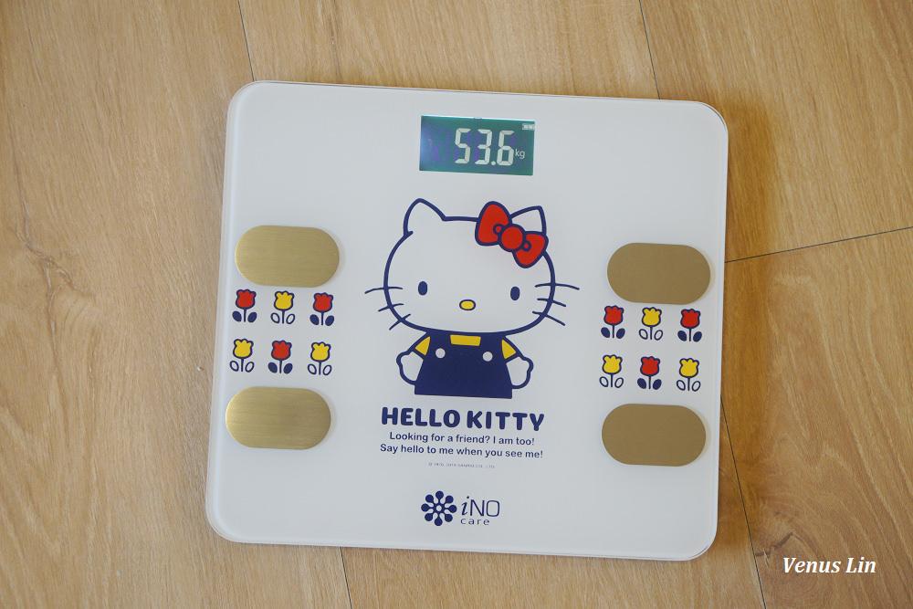 iNO Hello Kitty藍牙智能體重計,Hello Kitty體重計,藍牙體重計