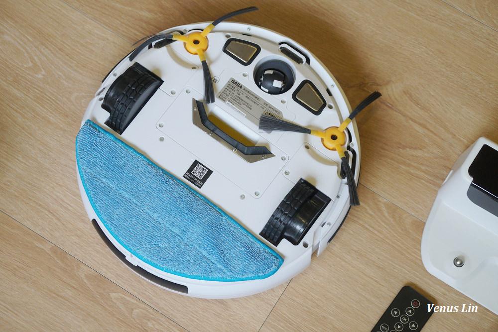 SABA掃地機器人,掃地拖地二合一,掃地機器人推薦,平價掃地機器人