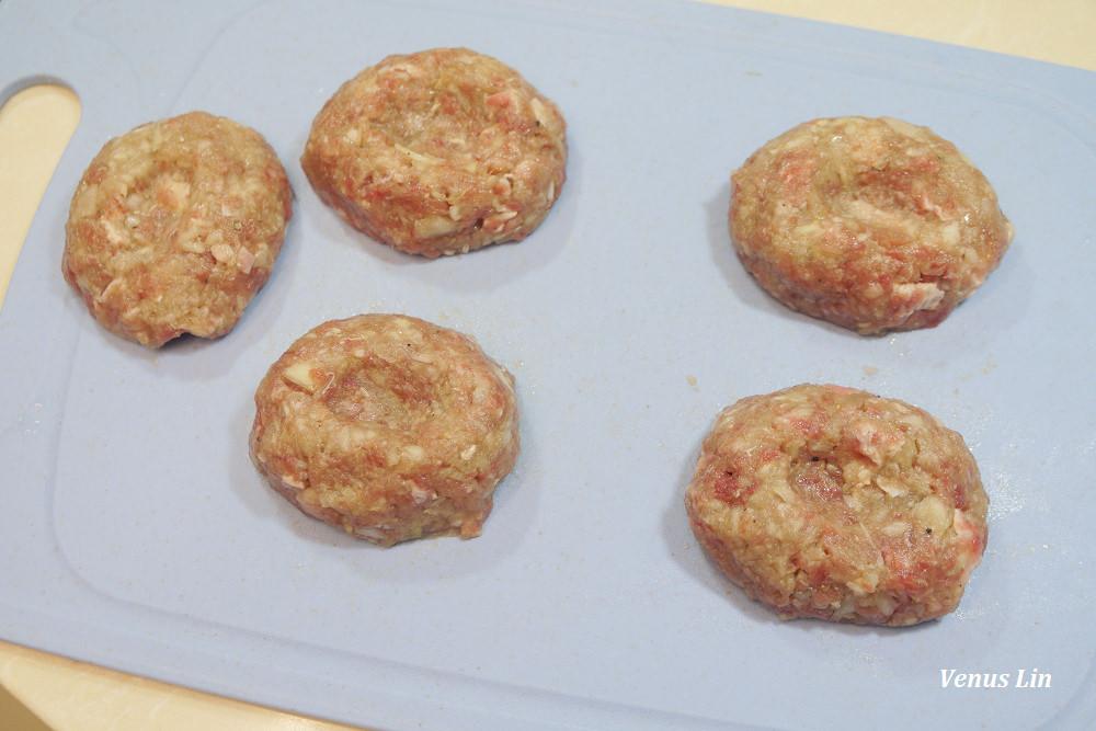 漢堡排食譜,自製漢堡排,零失敗漢堡排