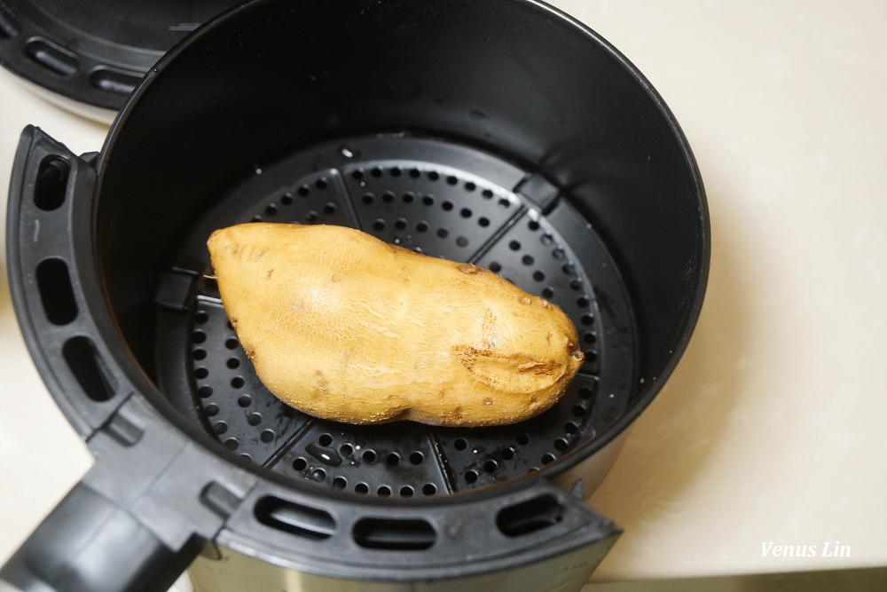 氣炸地瓜食譜,氣炸地瓜時間,用氣炸鍋做烤地瓜