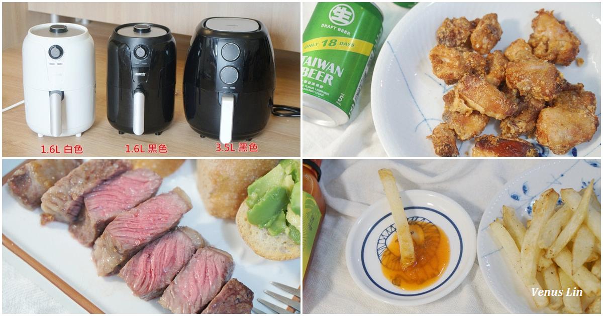 荷蘭公主氣炸鍋大尺寸3.5L新上市,10道氣炸鍋食譜懶人包、從超市食材到餐廳級美食(限時團購2019.12.17~12.23)