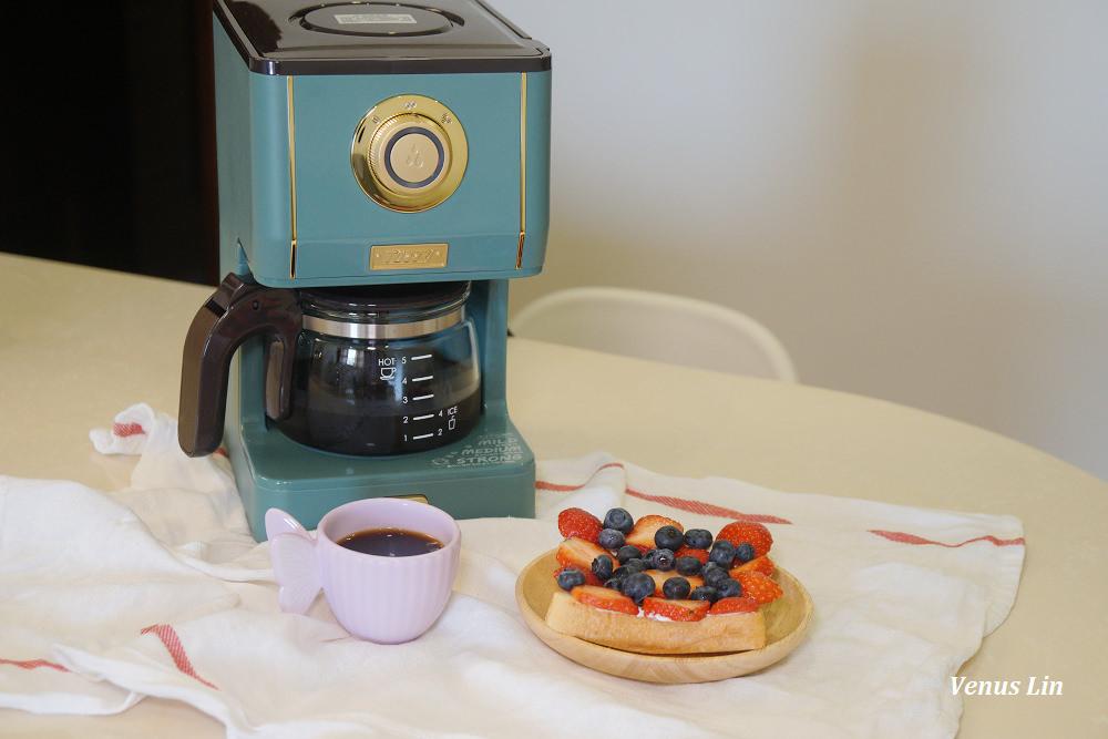 日本Toffy Drip Coffee Maker咖啡機、典雅復古風、手沖式萃取咖啡(2021.10.8~10.14限時團購)