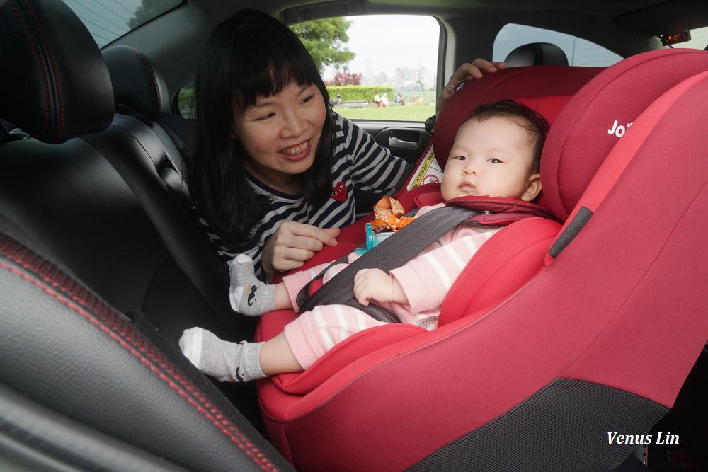 Joie Spin 360 0-4歲全方位汽車座椅,新生兒即可使用,360度旋轉方便抱寶寶上下車