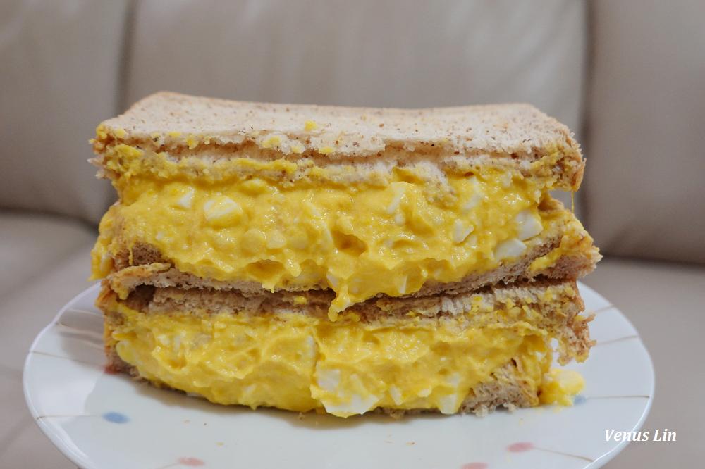 南瓜馬鈴薯蛋沙拉食譜,原來南瓜也適合做成沙拉夾吐司
