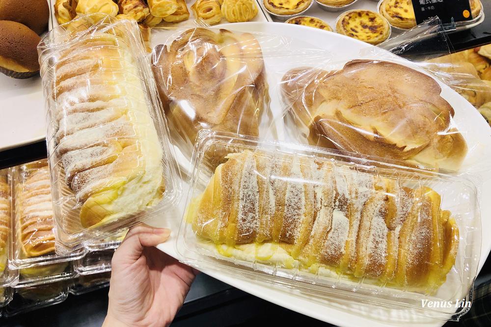 台南葡吉麵包店,必買鎮店之寶羅宋跟奶露,每天出爐時間誇張的搶麵包人潮