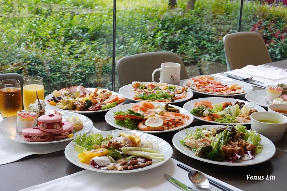 台北萬豪酒店Garden Kitchen平日午間自助餐800元,6/30前免10%服務費