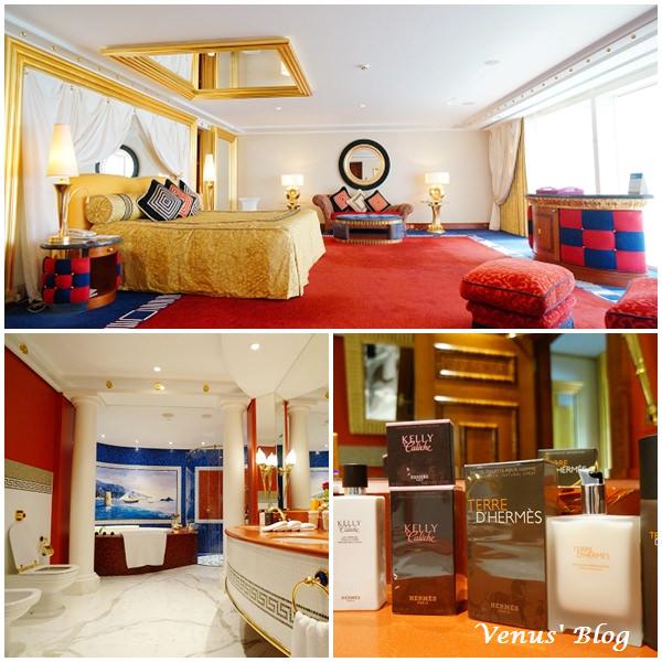 【杜拜奢華飯店推薦】七星級帆船酒店 Burj Al Arab – 房間篇大公開、奢華土豪風