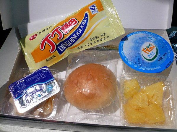 【飛機餐】香港→西安 東方航空飛機餐