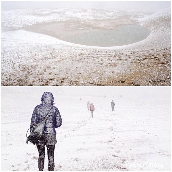【鳥取必玩】鳥取砂丘、暴風雪中的砂丘漫步