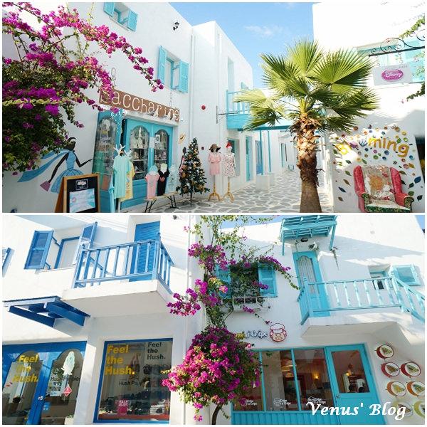 【泰國/華欣/必逛景點】聖托里尼遊樂園 Santorini Park – 華欣的小希臘、超級好拍照、推薦必遊