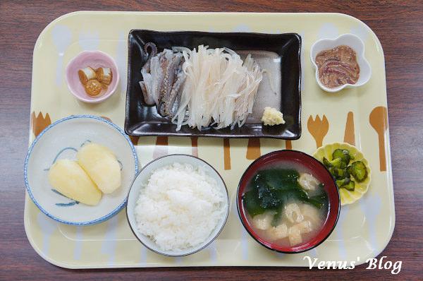 【北海道函館美食推薦】入舟番屋 – 午餐吃自己現釣的花枝,花枝刺身超新鮮非常好吃