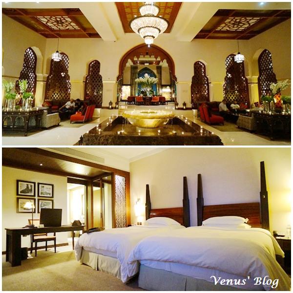 【杜拜飯店推薦】The Palace Downtown Dubai 皇宮老城飯店、音樂噴泉、晚餐早餐自助餐 –  阿拉伯皇宮風情、地點超優近哈里發塔及Dubai Mall